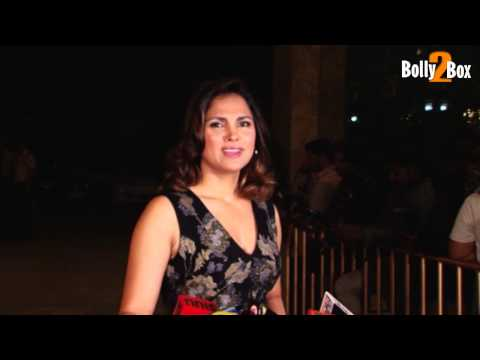 Lara Dutta at Farah Khan's 50th b'day party