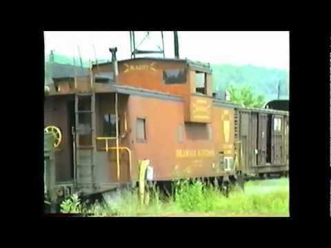 1980 D&H Alco's, Cabooses and more at Mechanicville (NY) Yard