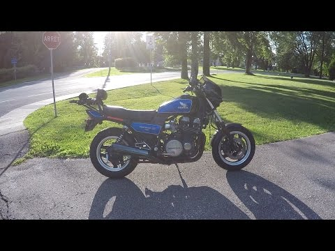 Honda CB750 Nighthawk S 1984 Motorcycle Review