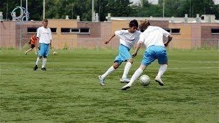 Het verbeteren van passeren in 1 tegen 1 frontaal | Voetbalomgeving