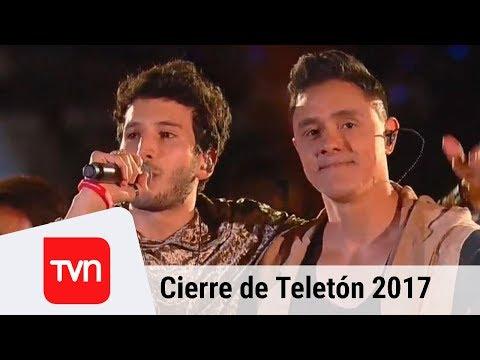 Sebastián Yatra y Joey Montana prenden la noche en el cierre de Teletón | Teletón 2017
