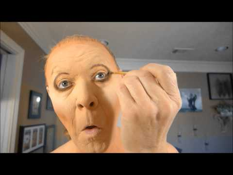 Drag Queen Transformation - Rodd becomes Patti