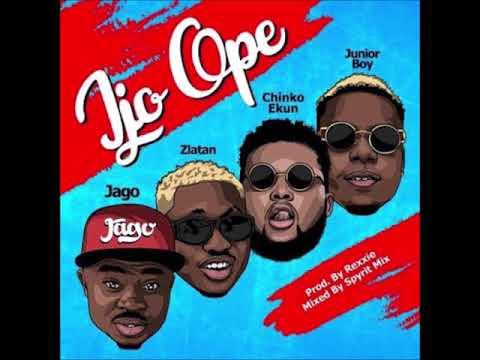 Rahman Jago - Ijo Ope ft Zlatan ibile, Chinko Ekun and Junior Boy #ToluMO #1