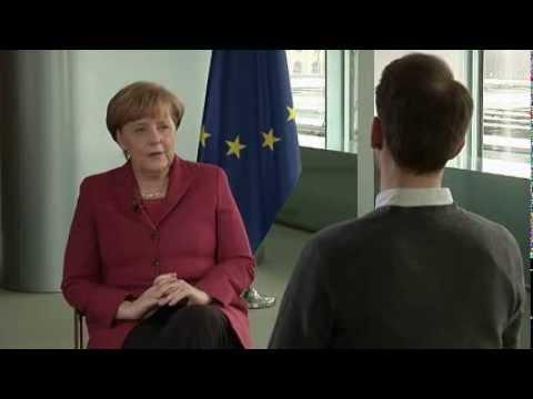 Angela Merkel: Menschen müssen Europa erleben