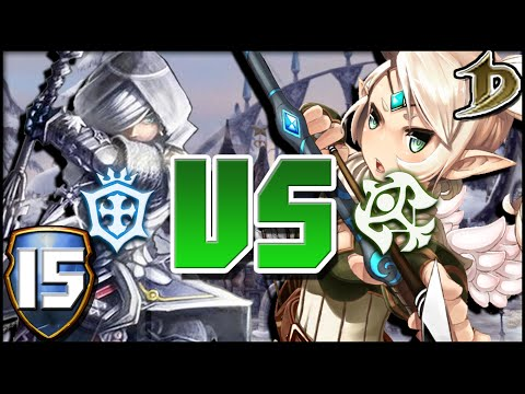 Dragon Nest - [PvP 15] - Crusader vs Sniper