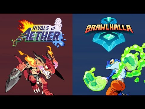 Brawlhalla and Rivals of Aether Crossover Skins