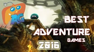 Top 10 Best Adventure Games for Android/iOS 2016! [AndroGaming]
