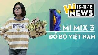 Mi MIX 3 đổ bộ thị trường Việt Nam, giá từ 12.99 triệu đồng I Hinews