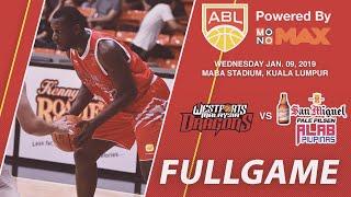 Westports Malaysia v San Miguel Alab Pilipinas | FULL GAME | 2018-2019 ASEAN Basketball League