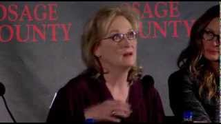 August: Osage County Press Conference Part 1 of 4