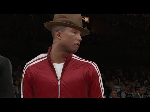 NBA 2K15 PS4 My Career - Pharrell