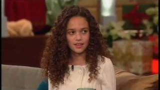 Madison Pettis - The Bonnie Hunt Show (December 17, 2009) FULL APPEARENCE HQ