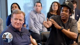 The NFL won by partnering with Jay-Z/Roc Nation, but now what? | Jalen & Jacoby