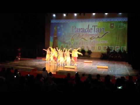 Parade Tari Daerah Riau 2014 (degho Balak) video