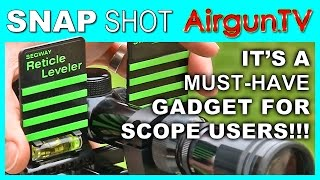 HOW TO level a rifle scope ft. Segway Reticle Leveler