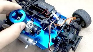 Nitro Engine on Car -RC Car Fix