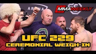 UFC 229: Khabib vs Conor McGregor Weigh-In  (FULL)