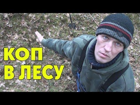 Коп в лесу. Находки на металлоискатель.