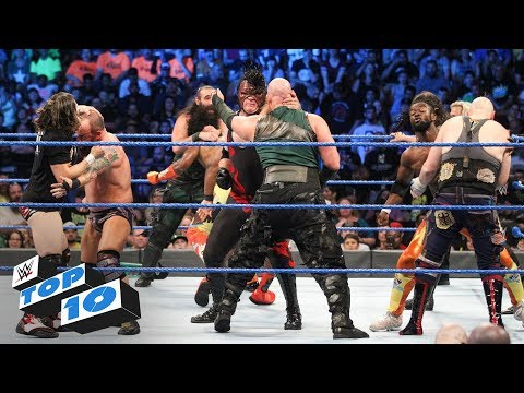 Top 10 SmackDown LIVE moments: WWE Top 10, July 10, 2018