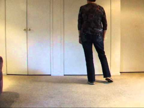 Chilly Cha Cha Beginner Line Dance .(Walk Through)
