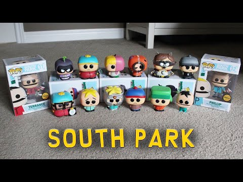 Entire Funko Pop South Park Line Review!  *With Chases*