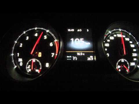 Golf GTI MK7 0-100 km/h