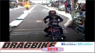 [Drag Bike 2015 -- Kehebatan Eko Kodox Saat Start | HD VIDEO] Video