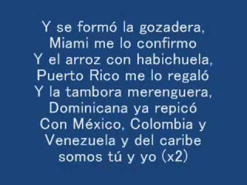 La Gozadera   Gente de Zona ft  Marc Anthony LYRICS LETRA 360p