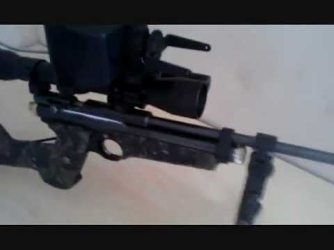 AIR RIFLE Night Vision System. How to make a Homemade Budget DIY Night Vision System.