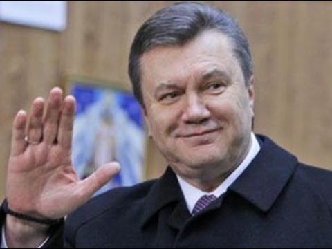 UKRAINE President Yanukovych Releases Statement from RUSSIA