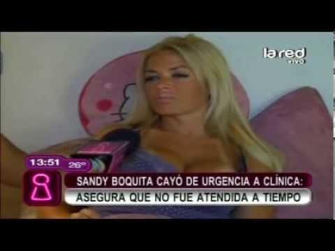 Sandy Boquita - Asegura que no fue Atendida a Tiempo en una Clinica por Andar sin Dinero