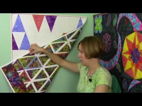 Modern Triangles by HoopSisters