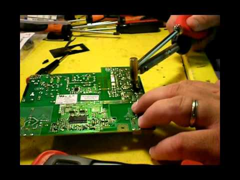 Repair Failure: HANNS-G Monitor Power Supply Capacitor Replacement