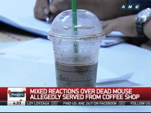 Mixed reactions over dead mouse found in coffee