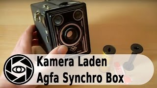 Agfa Synchrobox 600 Analog Kamera: Laden und Entladen Tutorial.