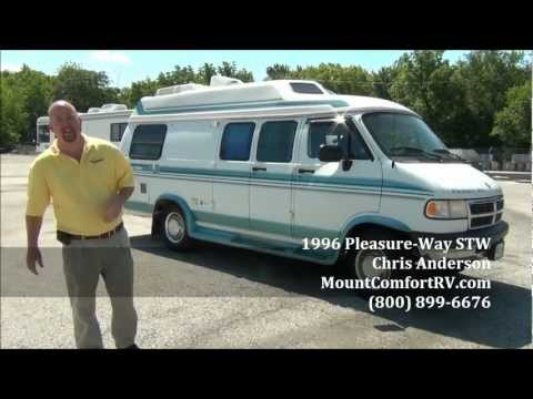 Used Class B Motorhome Pleasure-Way Custom Van