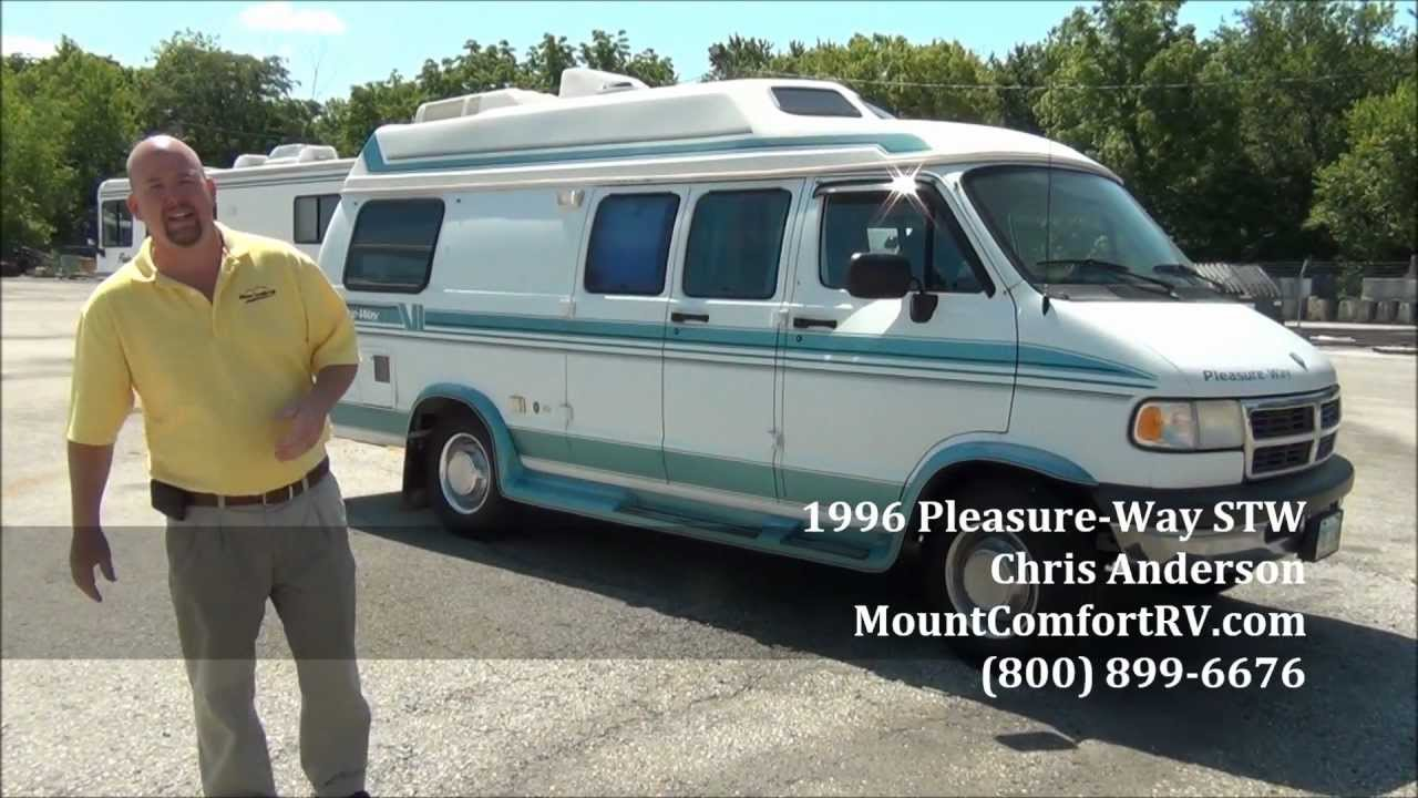 Used Class B Motorhome Pleasure-Way Custom Van - YouTube