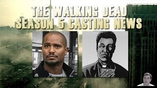 The Walking Dead Season 5 - Seth Gilliam Cast! Will He Be Playing Father Gabriel?