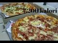 TANBOY KUN MAKAN 2 LOYANG PIZZA HUT Sekaligus !! UKURAN JUMBO !! (7.200 kalori)