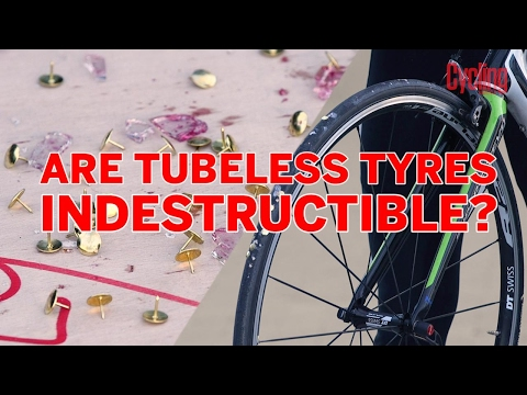 Cycling Weekly Science: Are Tubeless Tyres Indestructible?