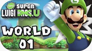 New Super Luigi U: World 01 (4 players)
