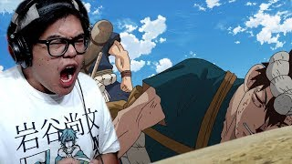 CHROME vs MAGNA | Dr Stone Episode 14 Live Reaction & Review