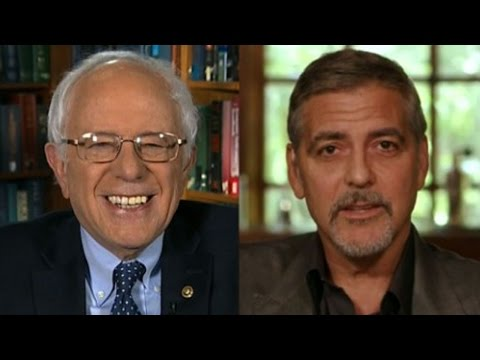 George Clooney Trolled By Bernie Sanders Supporters