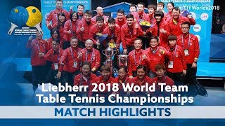 The Day China Became World Team Table Tennis Champions