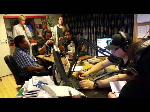 Euro Caravana 43 en vivo en la radio Latin Amerika en Oslo