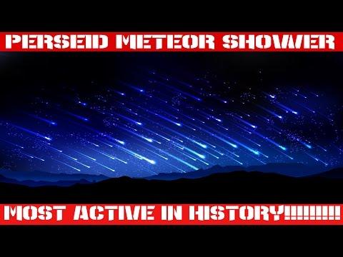 NASA Detects Supersize Meteor Shower | Perseid 2016