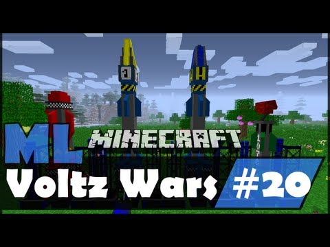 Minecraft Voltz Wars - Testing Nukes And We Might Have Crashed The Server - EP20