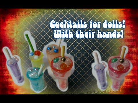 Игры делать коктейль с своими руками