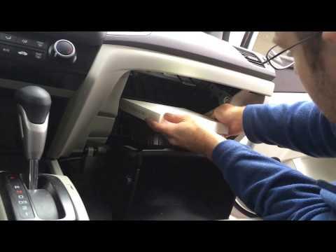 2012 Honda Civic Cabin Air Filter Replacement