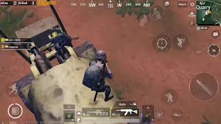 Tips and trick #5|| great cover near quarry || pubg mobile ||